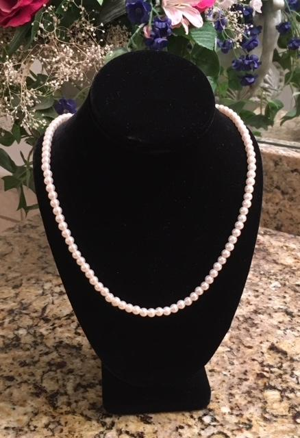 23, 26, & 32 inch Faux Pearl Necklaces