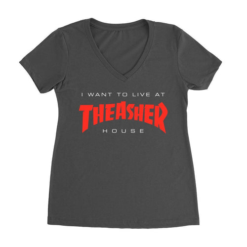 Reg Tees - I Want To Live In The Asher House