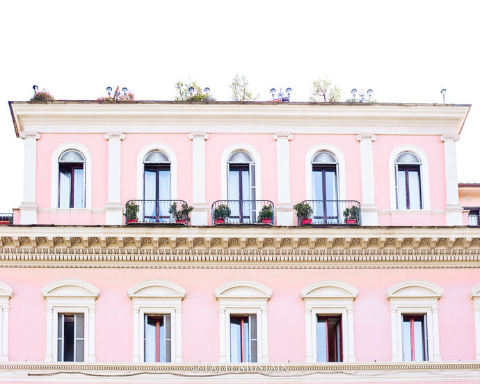 Pink in Rome