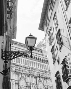 Street light in Florence, Italy