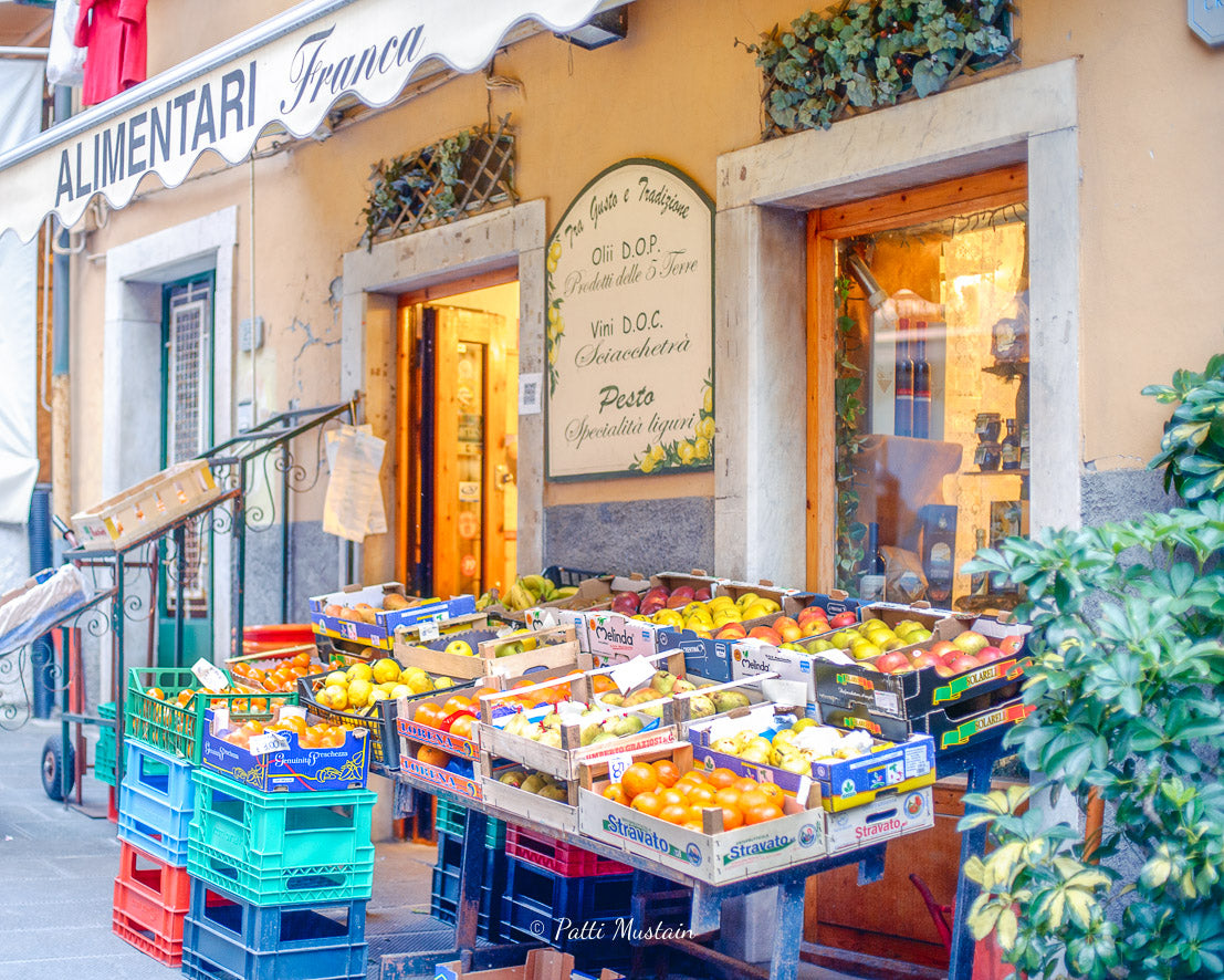 Fruit Stand in Cinque Terre