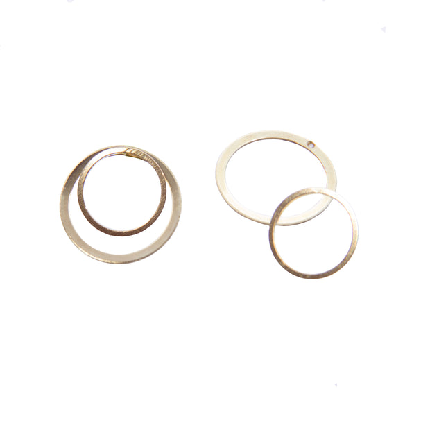 Concentric Jacket Earrings