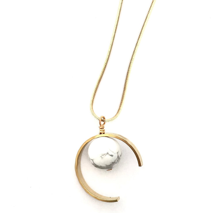 Eclipse Slider Necklace