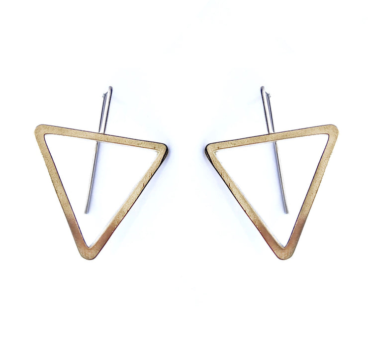 Illusion Tri Hoops