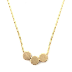 Triple Dot Necklace