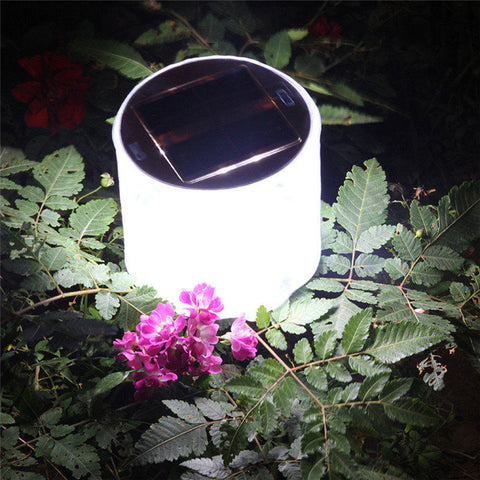 Image of Inflatable, Collapsible, Water Proof, Solar Lantern