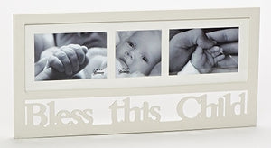 "10.25"" WALL FRAME/BLESS THIS CHILD - 10186 - Catholic Book & Gift Store"