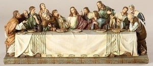 "4.5"" X 11.25""W LAST SUPPER FIGURE - 11345 - Catholic Book & Gift Store"