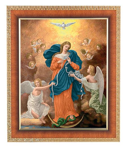 FRAMED OUR LADY UNTIER OF KNOTS - 122-906 - Catholic Book & Gift Store