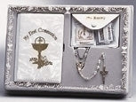 5-PC GIRL 1ST COMMUNION GIFT SET - 12279 - Catholic Book & Gift Store