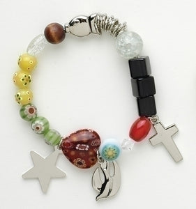 CHRIST'S STORY BEADED BRACELET - 12321 - Catholic Book & Gift Store