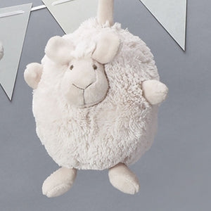 "5.5""H LITTLE WHITE SHEEP/PLUSH - 12395 - Catholic Book & Gift Store"