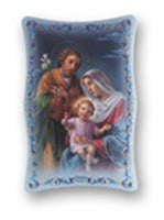 6X9 HOLY FAMILY PLAQUE - 1270.362