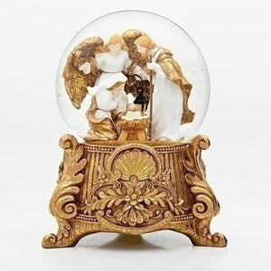 "9.25""NATIVITY GLITTERDOME/150MM DOME"