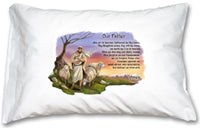 PRAYER PILLOWCASE - 133-41 - Catholic Book & Gift Store