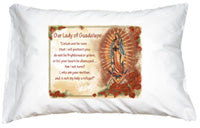PRAYER PILLOWCASE - OUR LADY OF GUADALUPE - 135-49 - Catholic Book & Gift Store