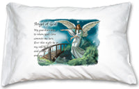 PRAYER PILLOWCASE - GUARDIAN ANGEL - 136-51 - Catholic Book & Gift Store