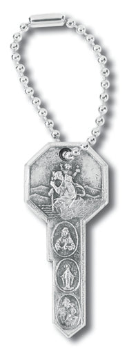 ST. CHRISTOPHER KEY KEYCHAIN - 1415 - Catholic Book & Gift Store