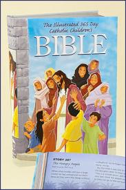 ILLUSTRATED 365 DAY CATHOLIC CHILDREN'S BIBLE - 15028 - Catholic Book & Gift Store