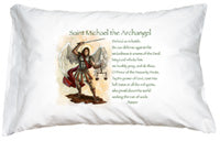 PRAYER PILLOWCASE - ST MICHAEL - 163-71 - Catholic Book & Gift Store