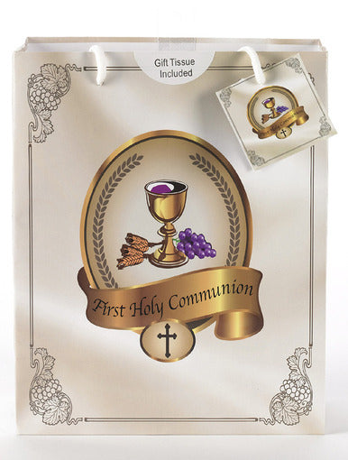 LARGE 1ST COMMUNION GIFT BAG - 165-20-2001 - Catholic Book & Gift Store