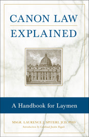 CANON LAW EXPLAINED - 1785 - Catholic Book & Gift Store