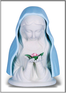 BLUE MADONNA NIGHT LIGHT - 1810 - Catholic Book & Gift Store