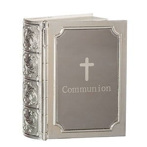 "3.5""H COMMUNION BIBLE KEEPSAKE"