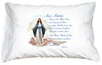 PRAYER PILLOWCASE - OUR LADY OF GRACE - 234-44 - Catholic Book & Gift Store