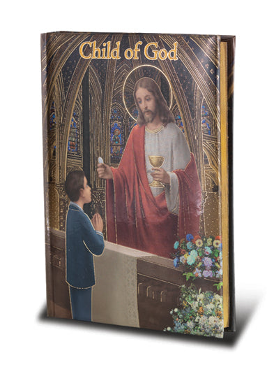 CHILD OF GOD/BOY COMMUNION PRAYERBOOK - 2471 - Catholic Book & Gift Store