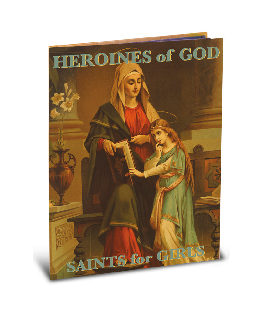 BOOK OF HEROINES OF GOD - 2579 - Catholic Book & Gift Store