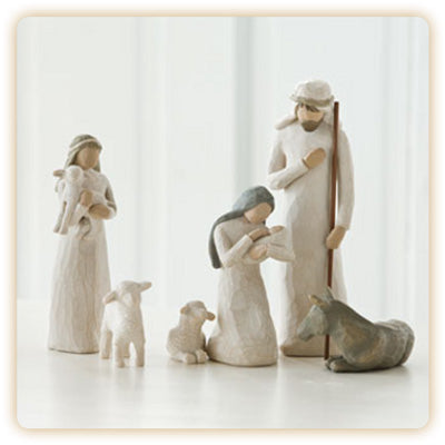 6 PC NATIVITY SET - 26005 - Catholic Book & Gift Store