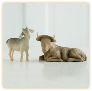 OX AND GOAT - 26180 - Catholic Book & Gift Store