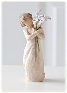 BEAUTIFUL WISHES FIGURE - 26246 - Catholic Book & Gift Store