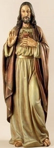 "37.5"" SACRED HEART OF JESUS FIGURE - 27019 - Catholic Book & Gift Store"