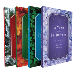 YEAR WITH FR. RUTLER 4-BOOK SET