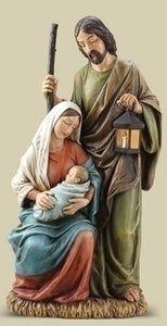 "31.25""H SLIM PROFILE HOLY FAMILY - 33001 - Catholic Book & Gift Store"