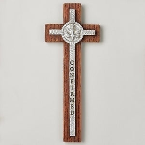 "8.5""H CONFIRMATION WALL CROSS - 40004"