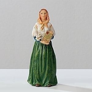 "3.5"" ST. DYMPHNA FIGURE - 40601 - Catholic Book & Gift Store"