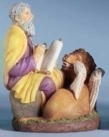 "3.5"" ST. MARK FIGURE - 40662 - Catholic Book & Gift Store"