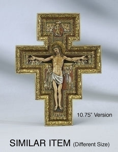 "6"" SAN DAMIANO CROSS - 40701 - Catholic Book & Gift Store"