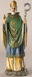 "10.5"" ST PATRICK FIGURE - 40724 - Catholic Book & Gift Store"