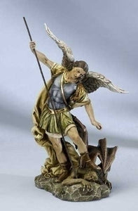 "12"" ST MICHAEL FIGURE - 40726 - Catholic Book & Gift Store"