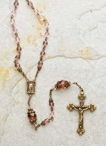 VICTORIAN ROSE ROSARY - 41047 - Catholic Book & Gift Store