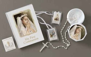 5PC/GIRL COMMUNION SET - 41479 - Catholic Book & Gift Store