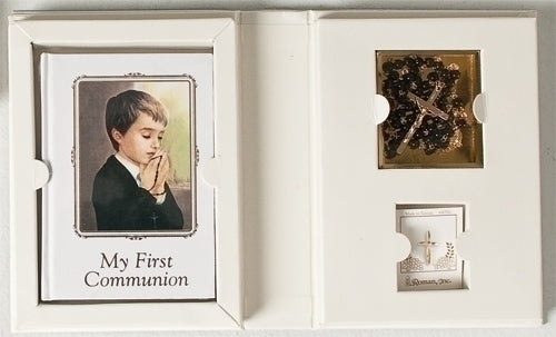 BOY COMMUNION 4PC FOLDER SET - 42658 - Catholic Book & Gift Store