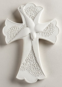 "7.5"" LACE CONFIRMATION CROSS - 43153 - Catholic Book & Gift Store"
