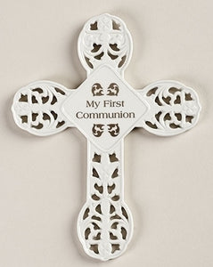"8.25"" COMMUNION WALL CROSS - 43966"