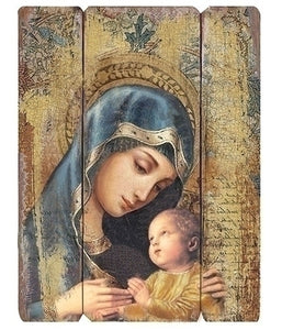 "26""H MADONNA & CHILD WALL PANEL - 44557 - Catholic Book & Gift Store"