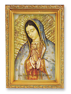 "4.5""X6.5"" OUR LADY OF GUADALUPE FRAMED - 461-217 - Catholic Book & Gift Store"